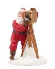 Santa Takes A Photo