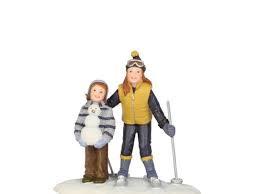 Joselle en Lisie in the Snow