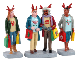 Girls Christmas Shopping, Set Of 3 - NEW 2021