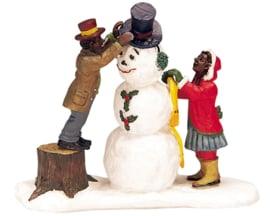 Sneeuwpop & Kerstman