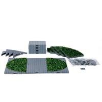 Hekjes, Muurtjes & Wegdelen / Fences, Walls & Road Sections