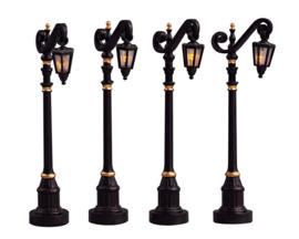 Colonial Street Lamp, Set Of 4