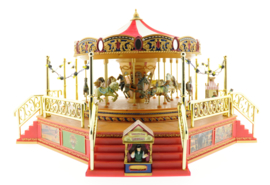 Mr.Christmas World's Fair Boardwalk Carousel