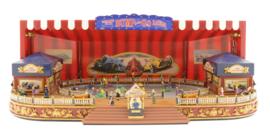 World's Fair Animated Music Box -- Bump and Go Racers