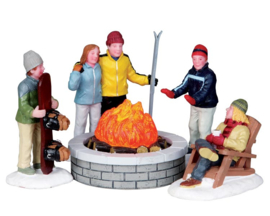 Fire Pit, Set Of 5