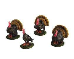 Gobbling Turkeys