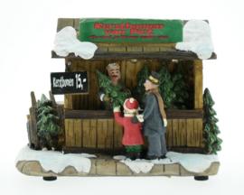 Kerstbomen van Piet