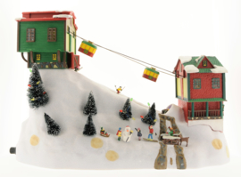 Mr. Christmas Winter Wonderland Moving Cable Cars