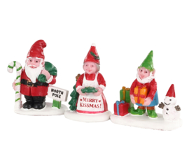 Christmas Garden Gnomes -  NEW 2020