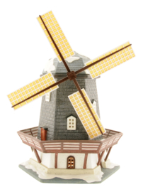 Lakeside Wooden Windmill
