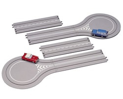Classic Car Set 2-Way Road Pattern