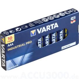 VARTA INDUSTRIAL PRO ALKALINE AA - 10 STUKS
