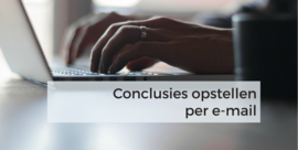 Conclusie per e-mail