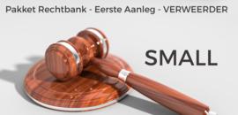Pakket rechtbank verweerder SMALL