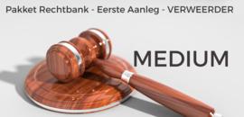 Pakket rechtbank verweerder MEDIUM