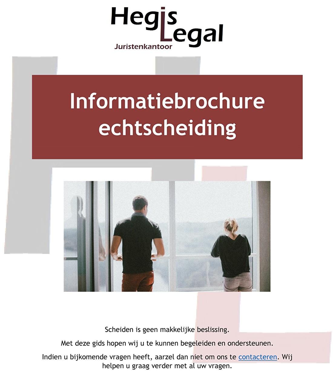 Informatiebrochure echtscheiding