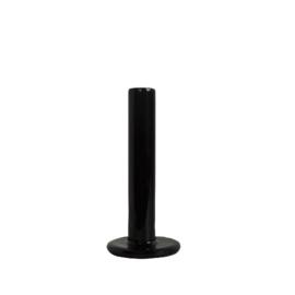 Tube kandelaar 15cm - Black