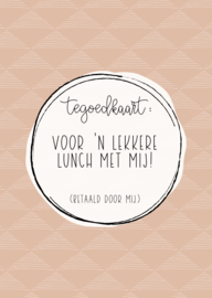 Kaart | Lunch