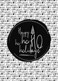 Happy ho ho ho  holidays