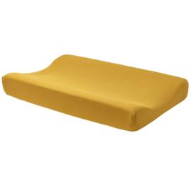 Aankleedkussenhoes - Oker geel