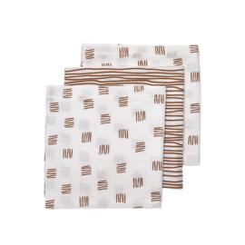 Hydrofiele luiers - Block/stripe camel