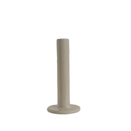 Tube | kandelaar 15cm - Grey