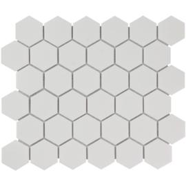 Mozaiek Hexagon Extra Wit 51x59mm TMF Barcelona AFH13051