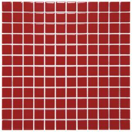 Mozaiek Geglazuurd Porselein Signaal Rood 23x23mm TMF Barcelona AF230053