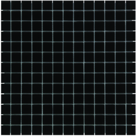 Helder Glasmozaiek Zwart TMF Montreal MOG05