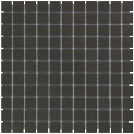 Vloer Mozaiek Zwart Onverglaasd Porselein TMF London LO2317