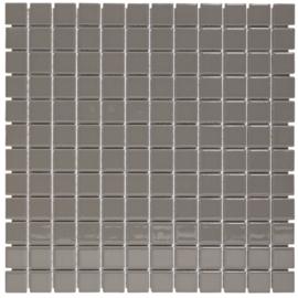 Mozaiek Geglazuurd Porselein Grijs 23x23mm TMF Barcelona  AF230440