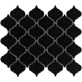 Mozaiek Lantaarn Zwart Geglazuurd Porselein TMF Paris PALG915