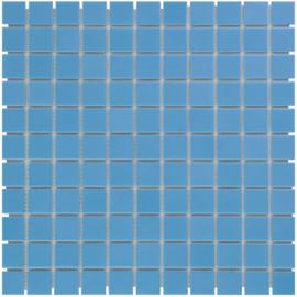 Mozaiek Geglazuurd Porselein Blauw 23x23mm TMF Barcelona AF230075