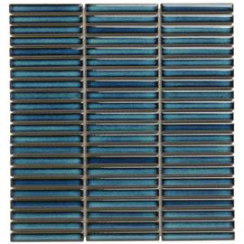 SEF12625 Azuur Blauw met spikkel Kit Kat mini's Mozaiek