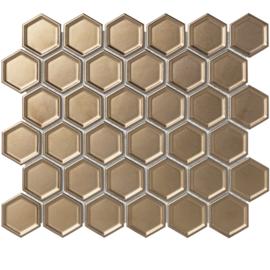 Mozaiek Metallic Brons TMF Barcelona AFH13B