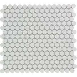Mozaiek Rond Wit Geglazuurd Porselein TMF Venice VKN100