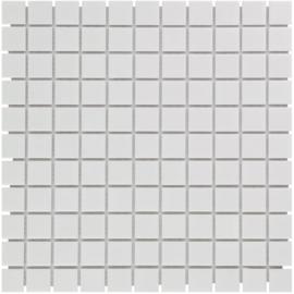 Mozaiek Geglazuurd Porselein Extra Wit 23x23mm TMF Barcelona AF230051