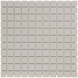 Vloer Mozaiek Wit Onverglaasd Porselein TMF London LO2310