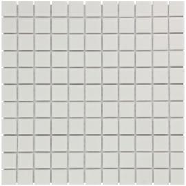 Mozaiek Geglazuurd Porselein Mat Wit TMF Barcelona AM230010