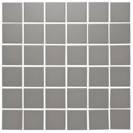 Vloer Mozaiek Donker Grijs Onverglaasd Porselein TMF London LO1015