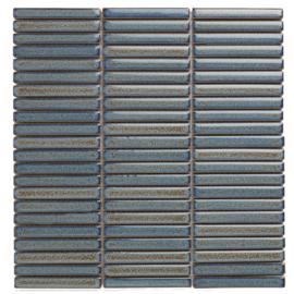SEF12325 Grijs Blauw met spikkel Kit Kat mini's Mozaiek