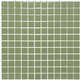 Mozaiek tegels 23x23x6mm geglazuurd voor de wand