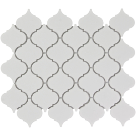 Mozaiek Lantaarn Extra Wit Geglazuurd Porselein TMF Paris PALG100