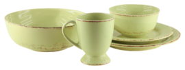 Small bowl green Oliva