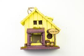 Vogelhaus Nutsbar Yellow Veranda
