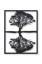 Boomframe  weerspiegeling 58x45cm