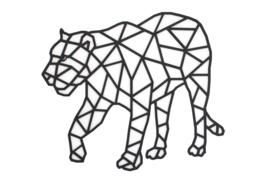 Geometrische jaguar