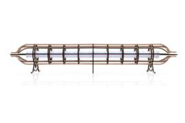 Industriële design lamp 113 cm Zapp 1
