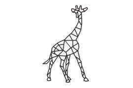 Geometrische giraffe