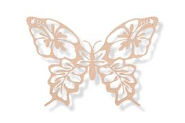 Vlinder (3) 50x35 cm
